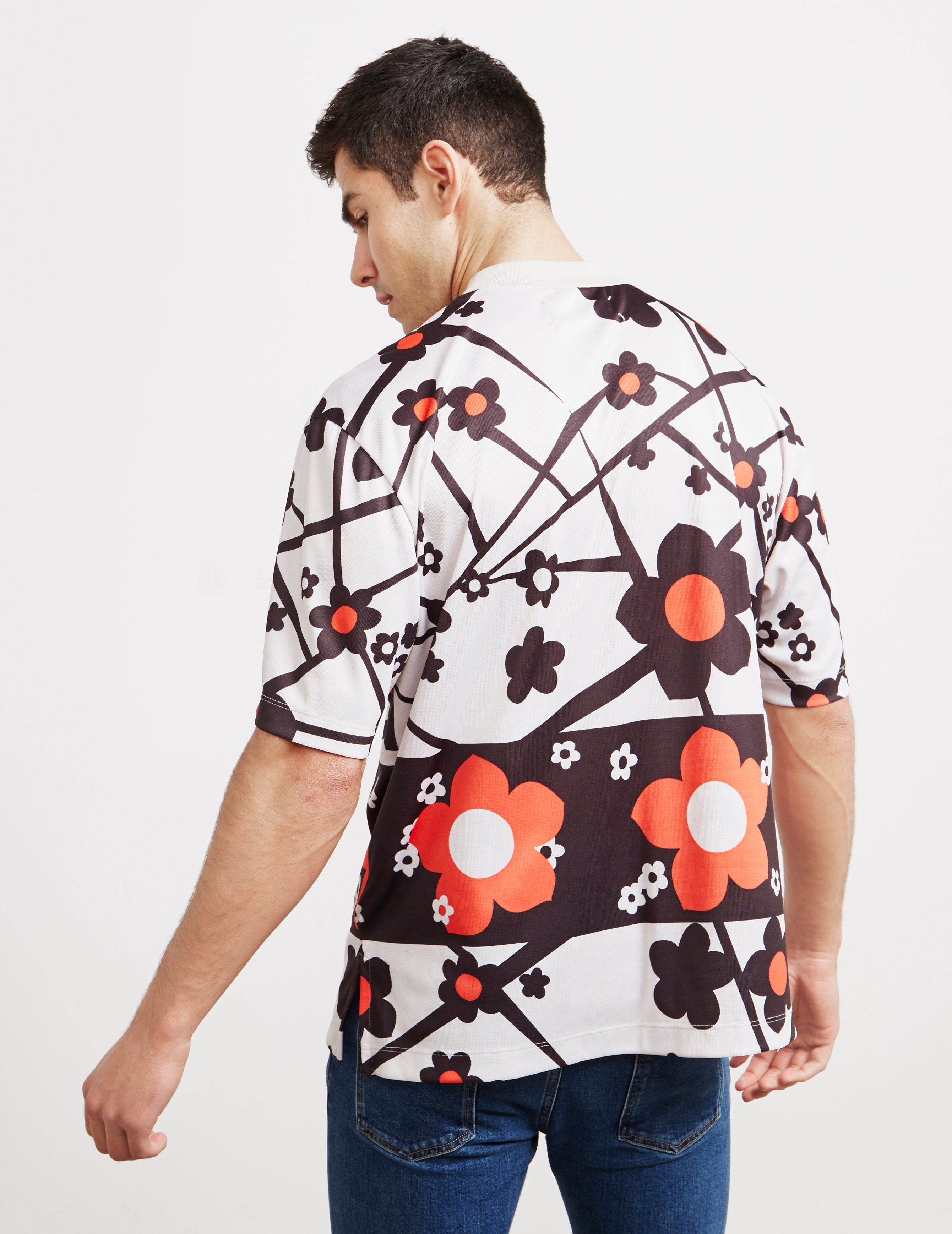 Maison Margiela Floral Short Sleeve T-Shirt