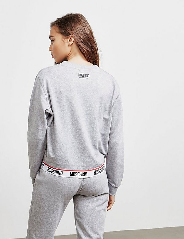 Moschino Tape Logo Sweatshirt - Online Exclusive
