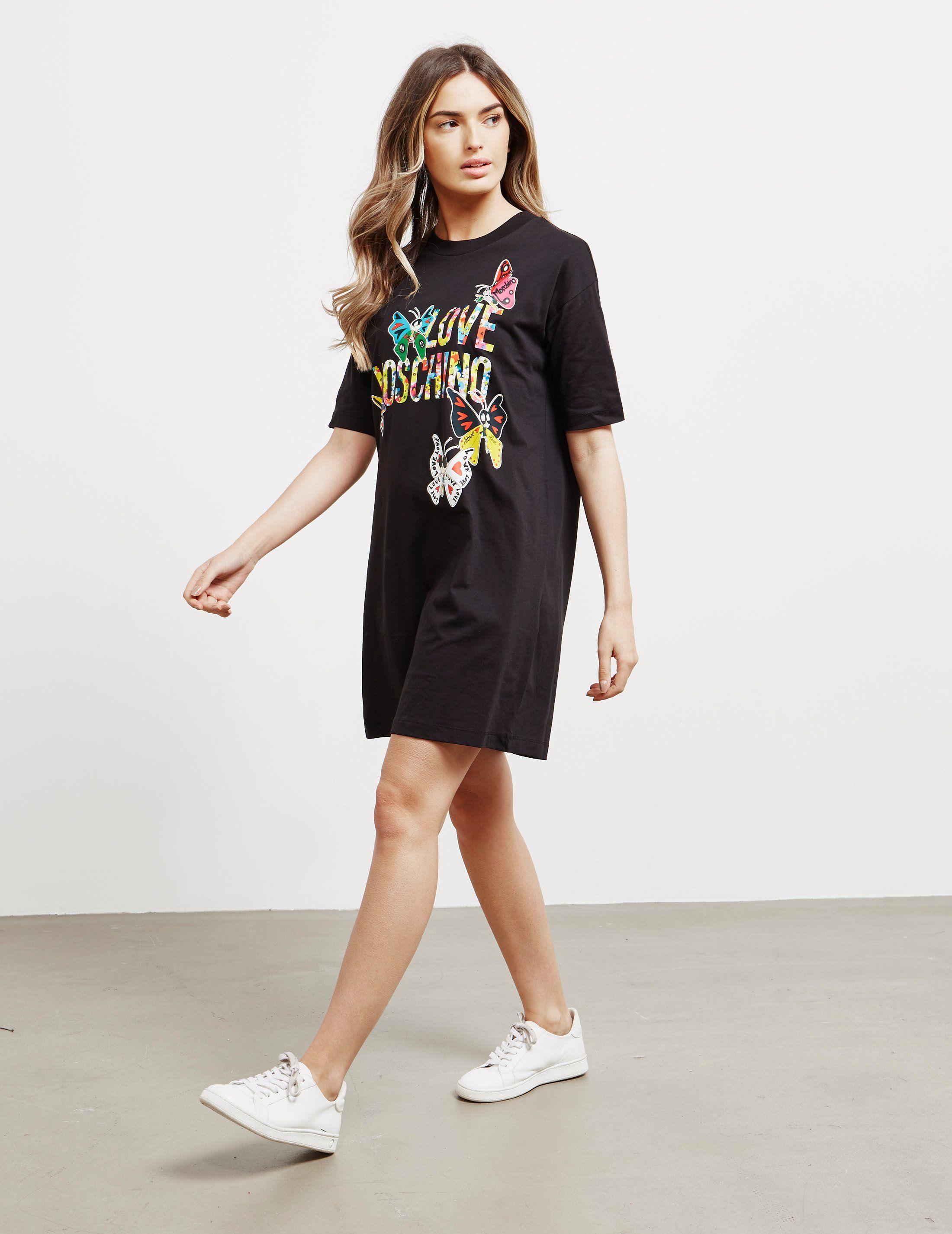 Love Moschino Butterfly Dress