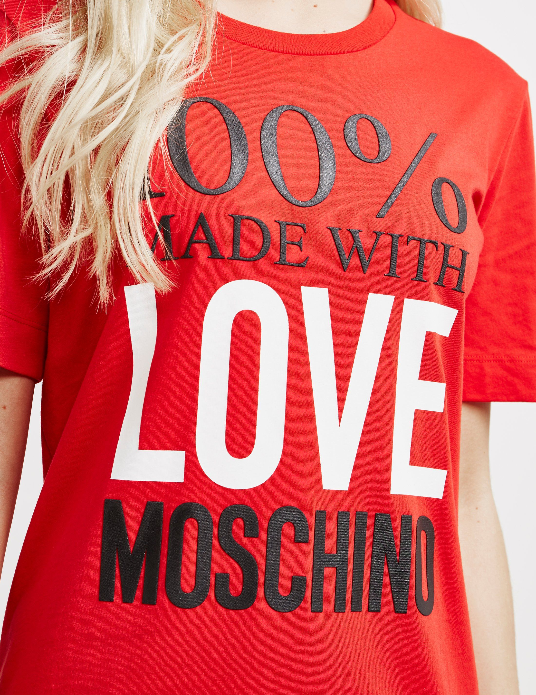 Love Moschino 100% Logo Dress