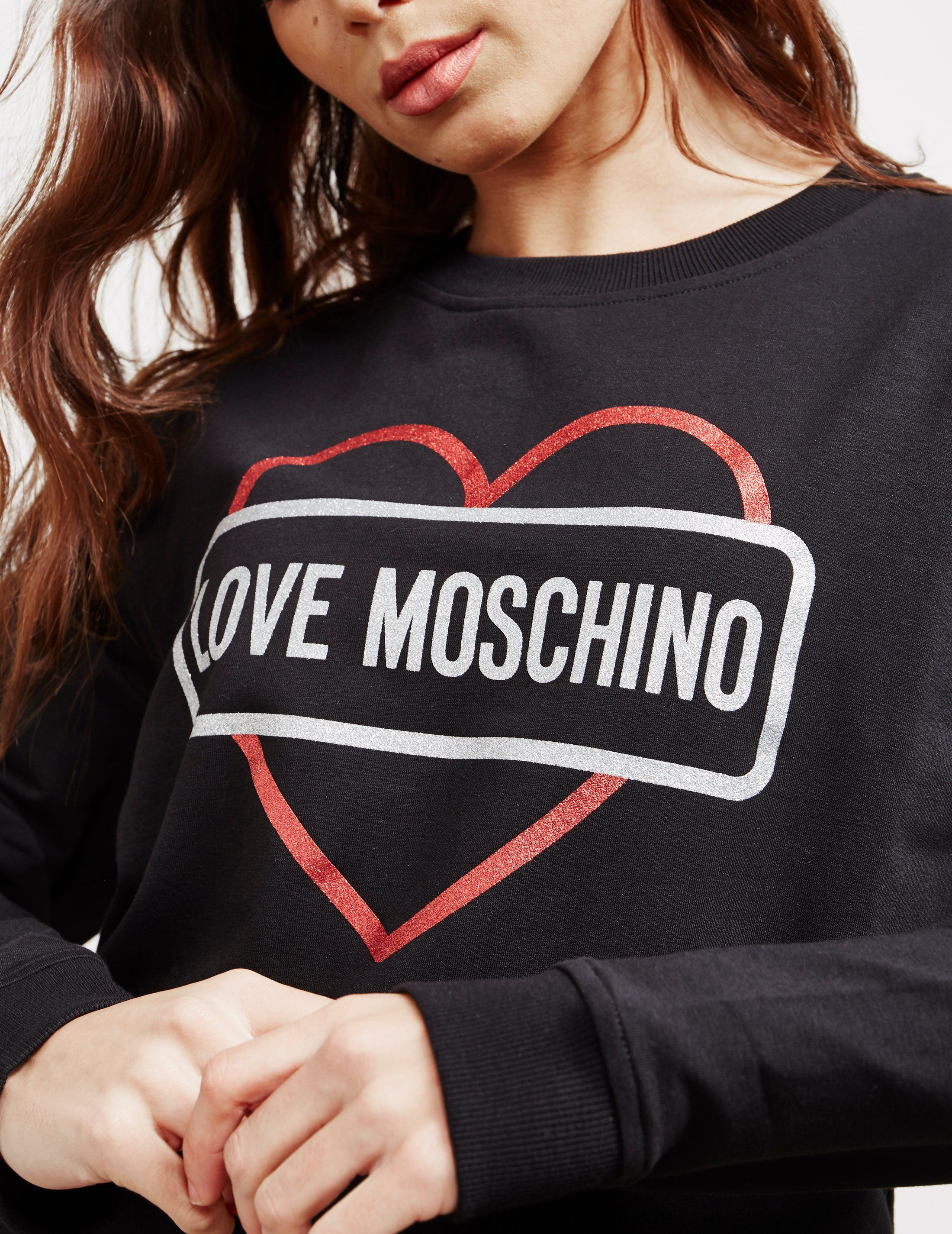 Love Moschino Box Heart Sweatshirt