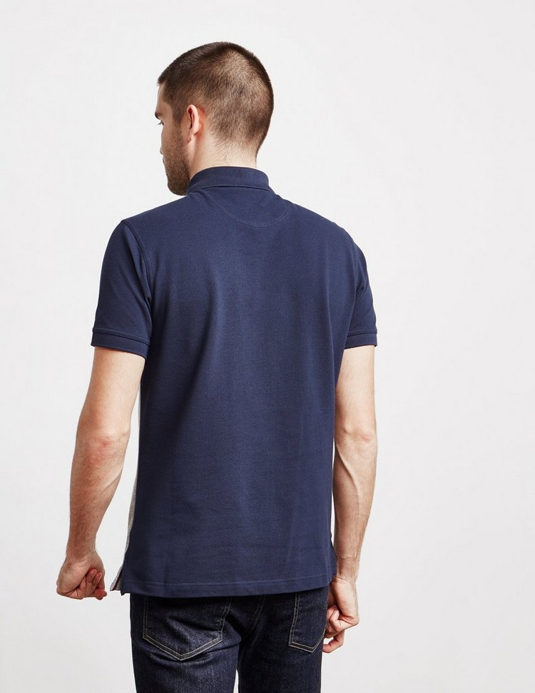 Barbour Grill Panel Short Sleeve Polo Shirt