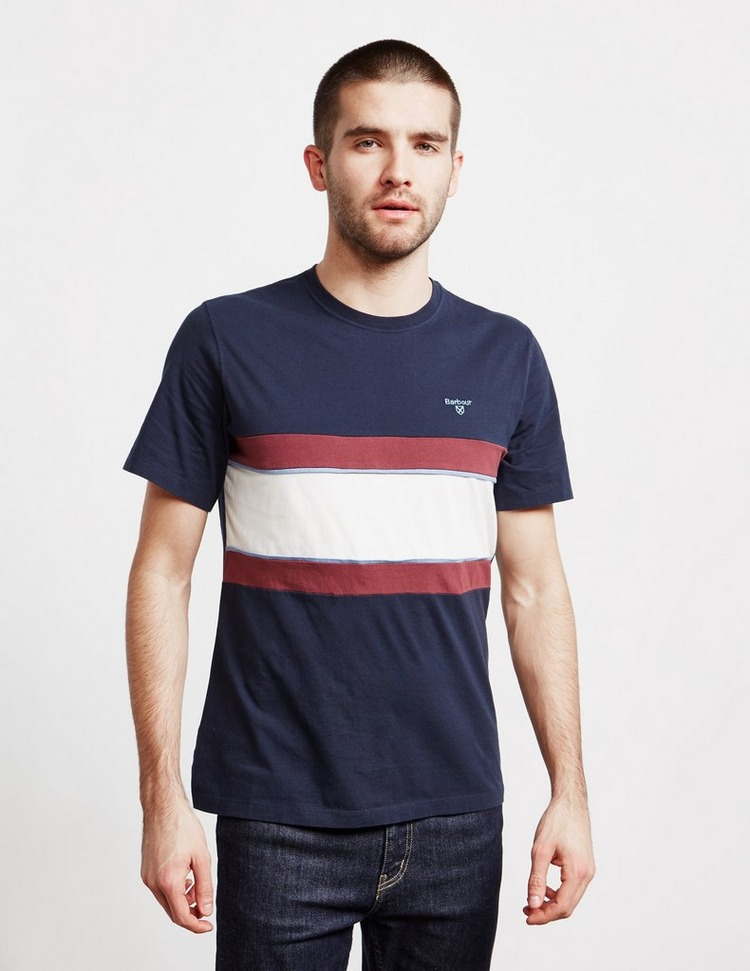 Barbour Bay Panel Short Sleeve T-Shirt