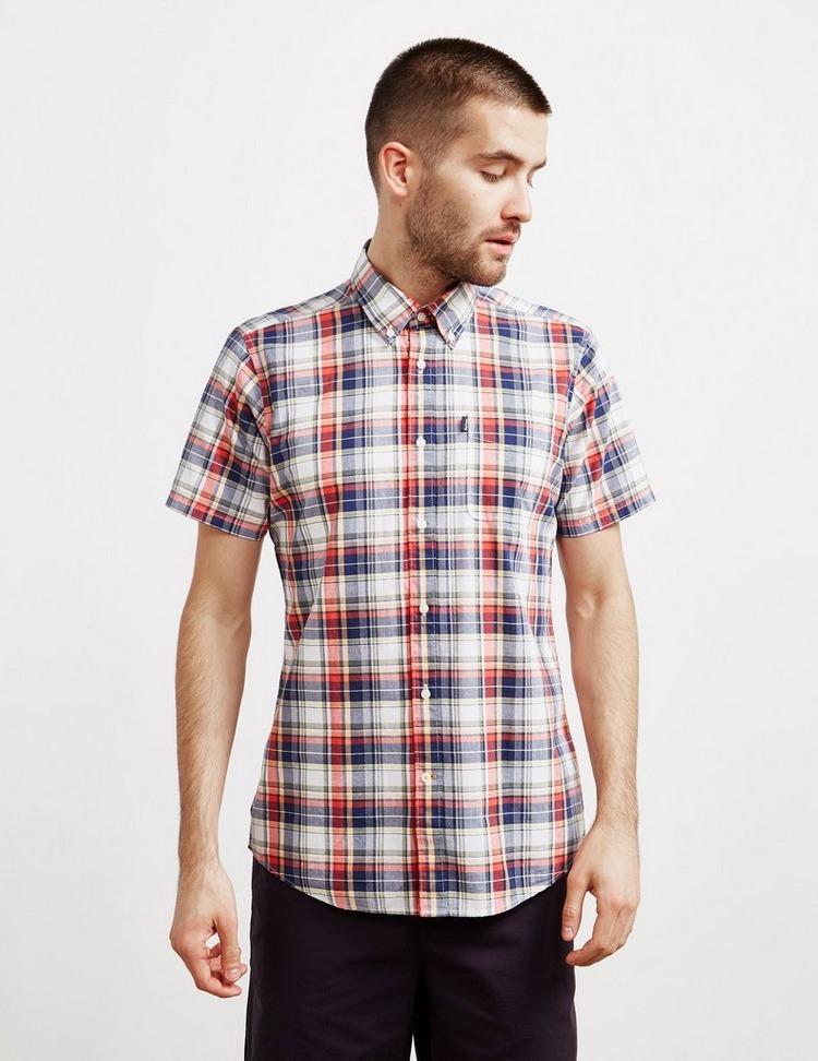 Barbour Madras Short Sleeve Shirt