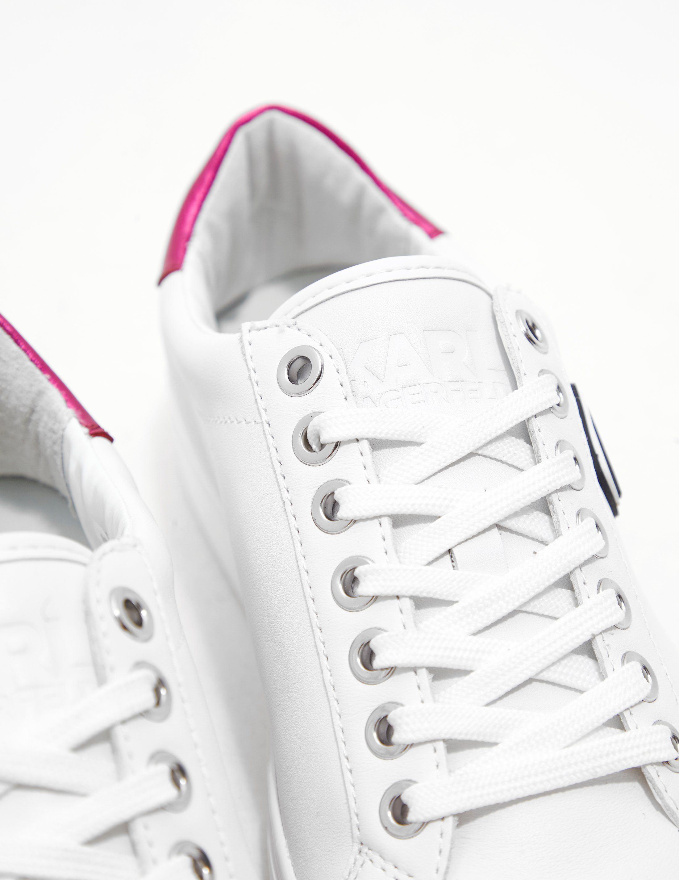 Karl Lagerfeld Iconic Lace Trainers