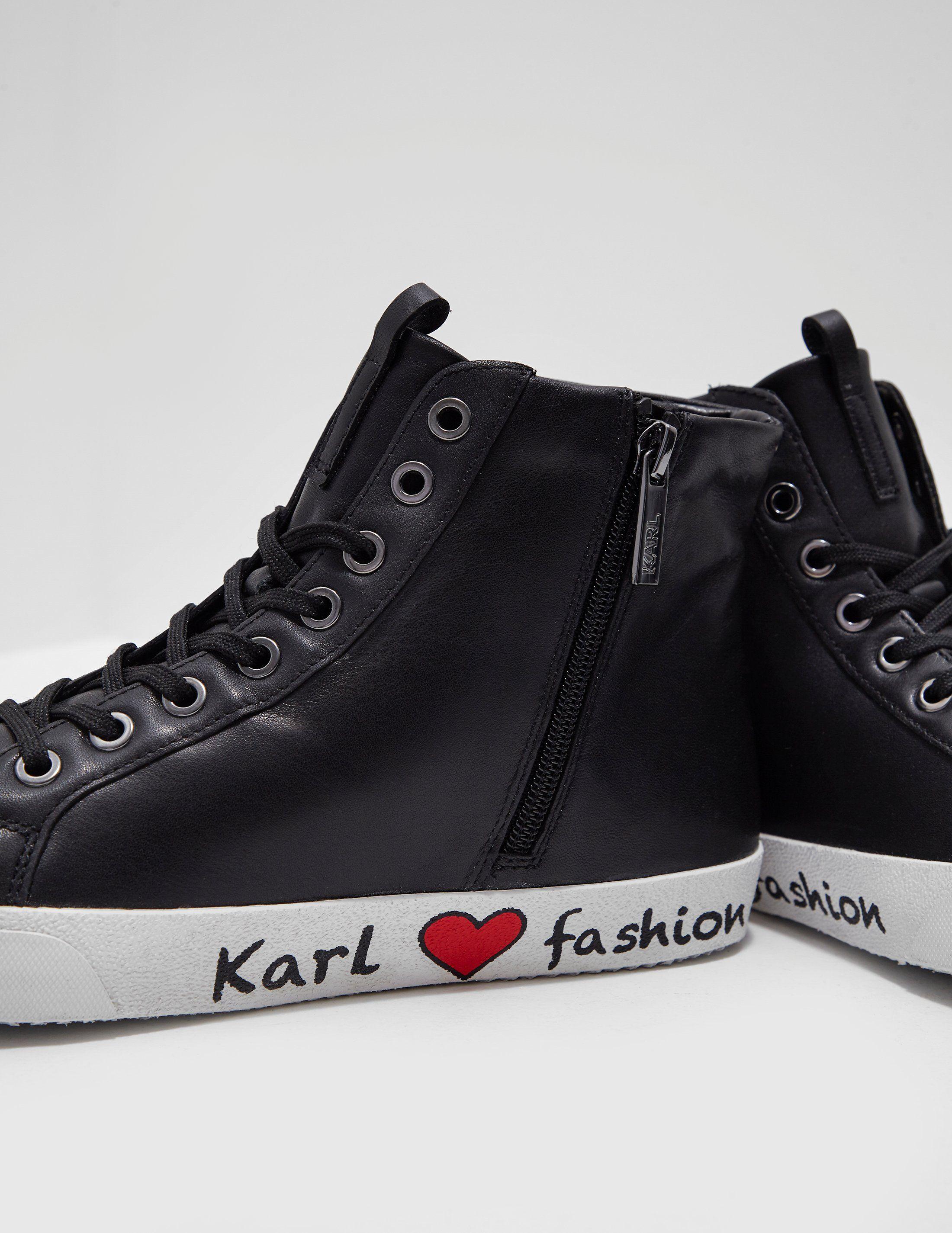 Karl Lagerfeld Skool Ikon Trainers - Online Exclusive