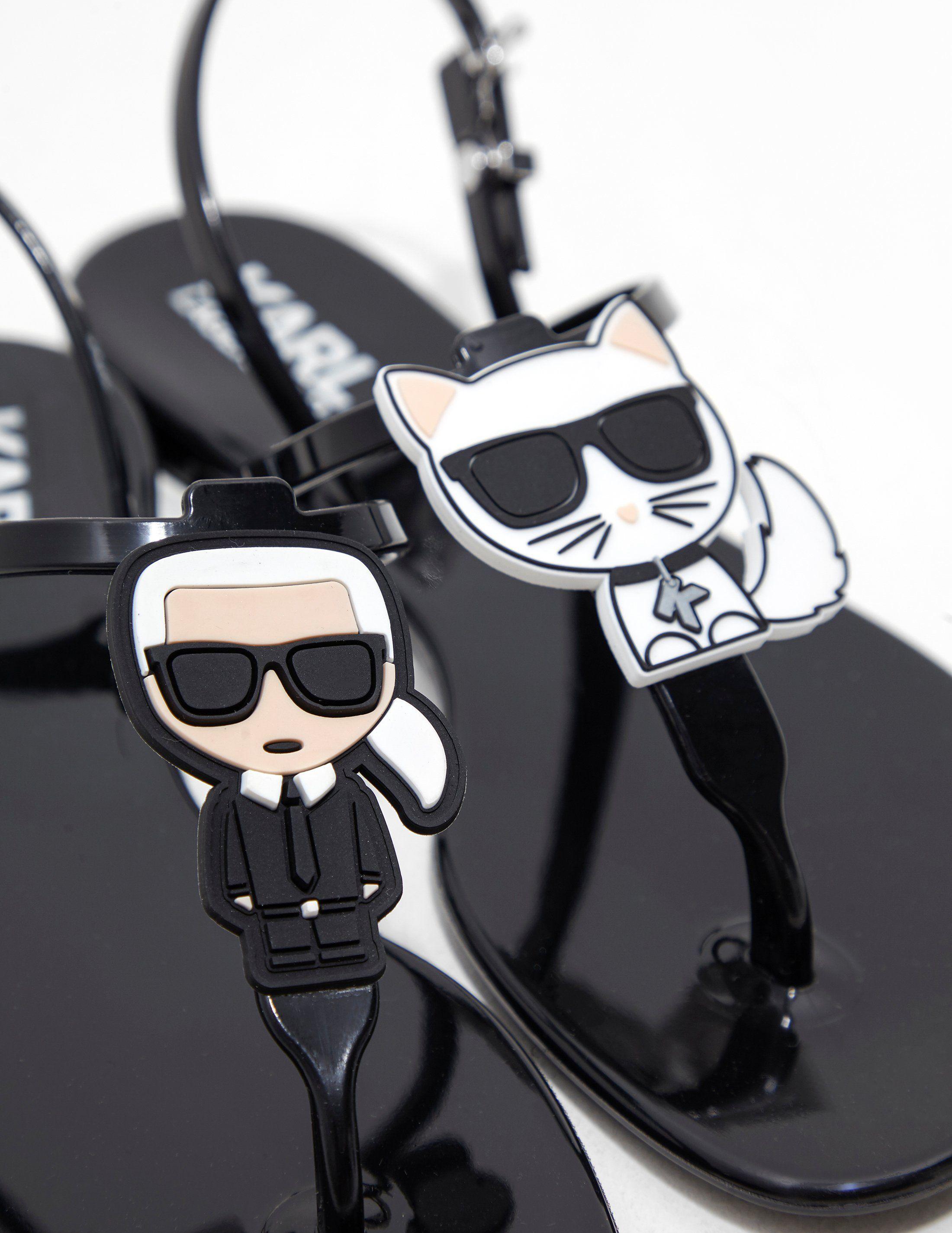 Karl Lagerfeld Jelly Sandals