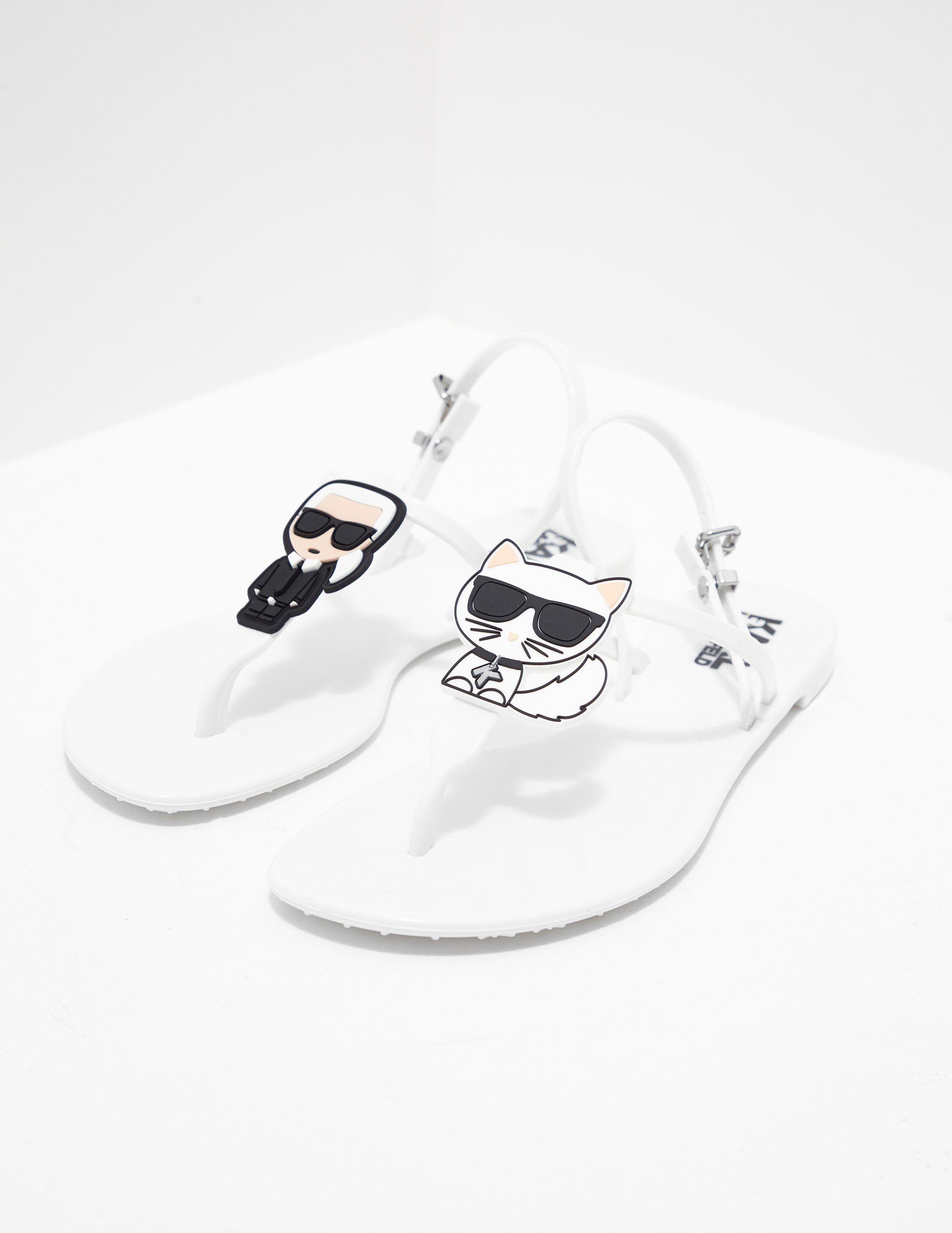 Karl Lagerfeld Jelly Sandals