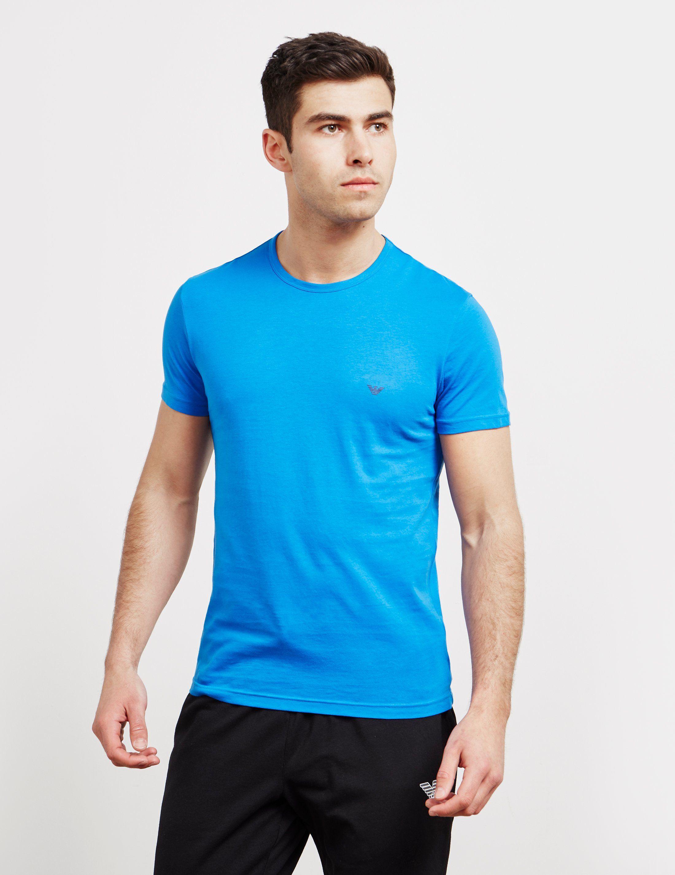 Emporio Armani 2-Pack Short Sleeve Logo T-Shirt
