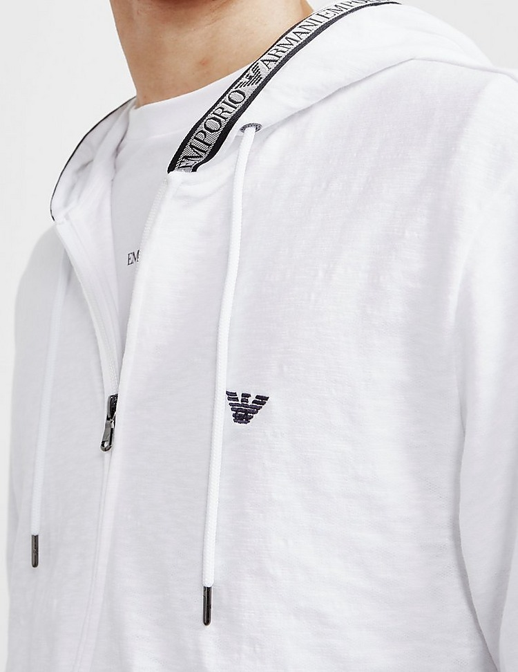 Emporio Armani Loungewear Tape Full Zip Hoodie