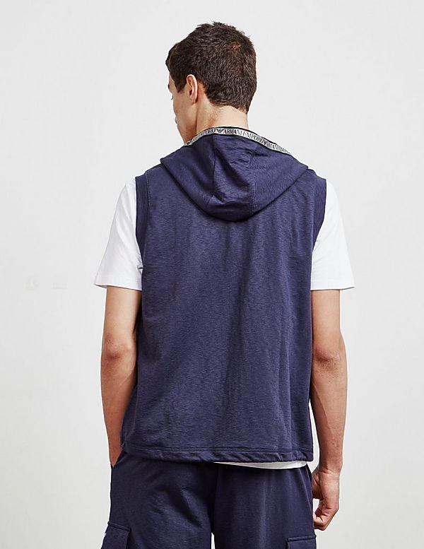 Emporio Armani Tape Vest Hoodie