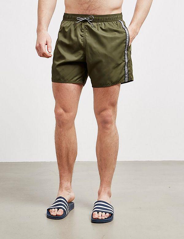 Emporio Armani Tape Swim Shorts
