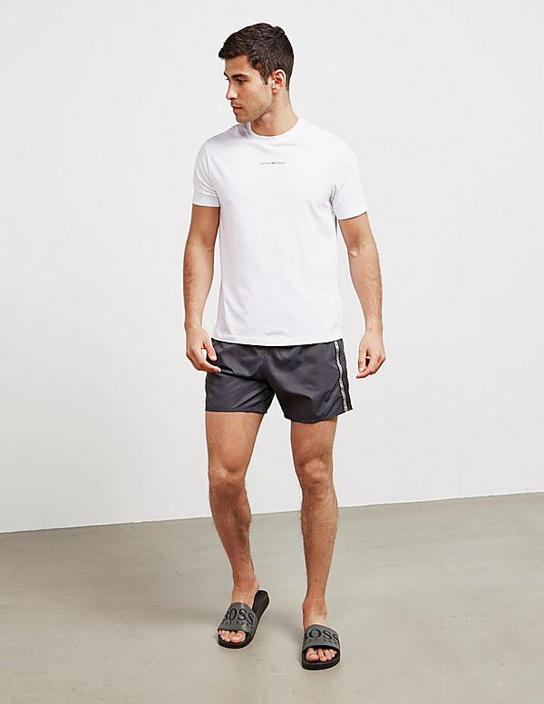 Emporio Armani Tape Swim Shorts