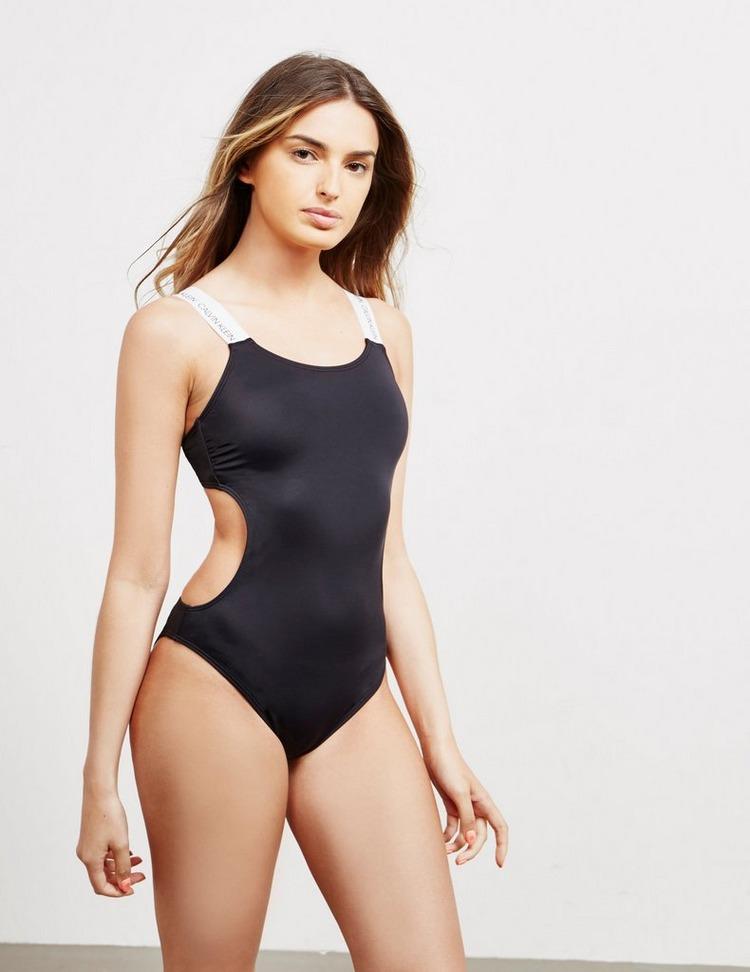 Calvin Klein Swim Cut Out Swimsuit