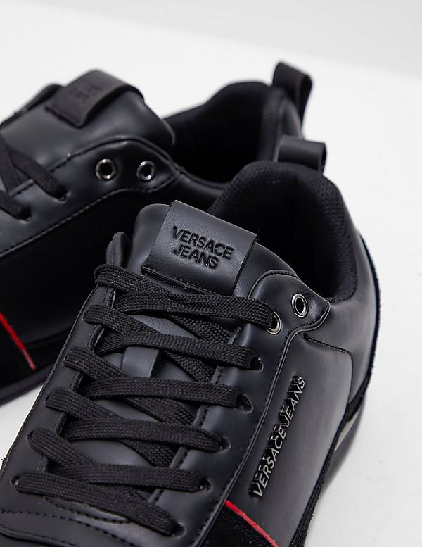 Versace Jeans Couture Tommy Leather Trainers