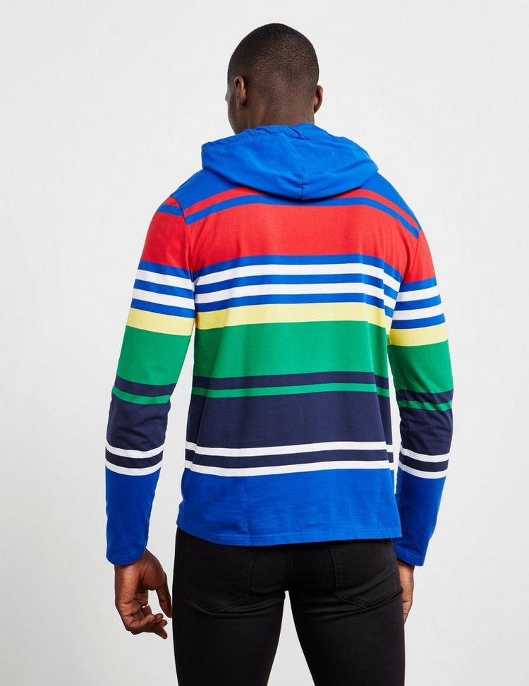 Polo Ralph Lauren Stripe Hooded Long Sleeve T-Shirt