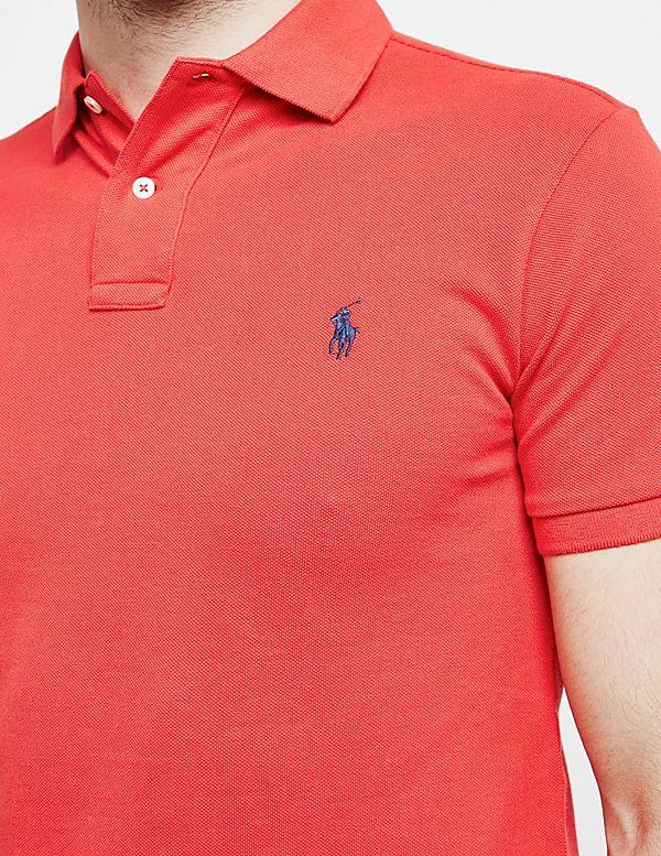 Polo Short Ralph Lauren Mesh ShirtTessuti Sleeve 2EIDH9
