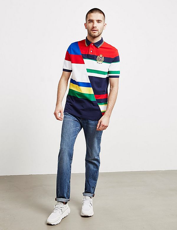 Polo Ralph Lauren Cut Up Short Sleeve Polo Shirt - Online Exclusive