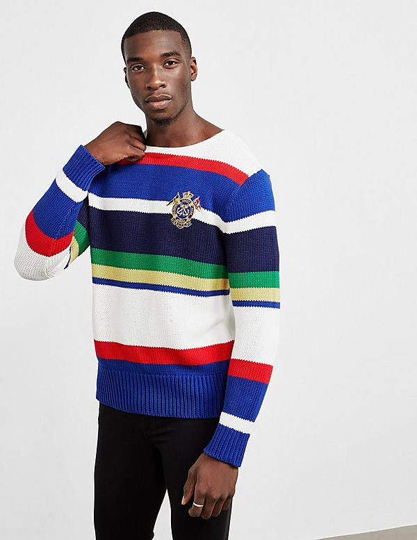 Polo Ralph Lauren Boat Stripe Jumper - Online Exclusive