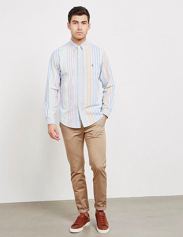 Polo Ralph Lauren Run Stripe Long Sleeve Shirt