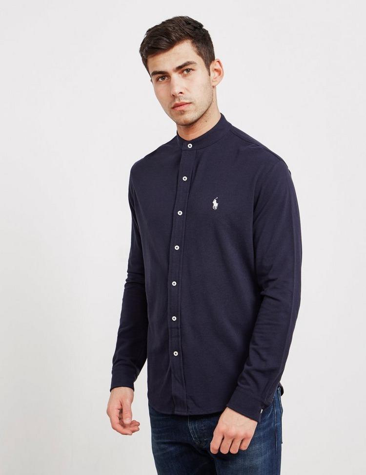 Polo Ralph Lauren Grandad Collar Long Sleeve Shirt