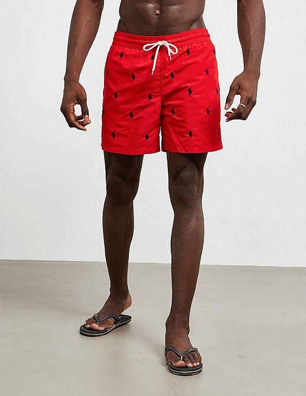39c644ede Polo Ralph Lauren All Over Print Swim Shorts