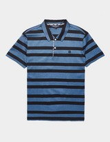 Aquascutum Osset Stripe Short Sleeve Polo Shirt
