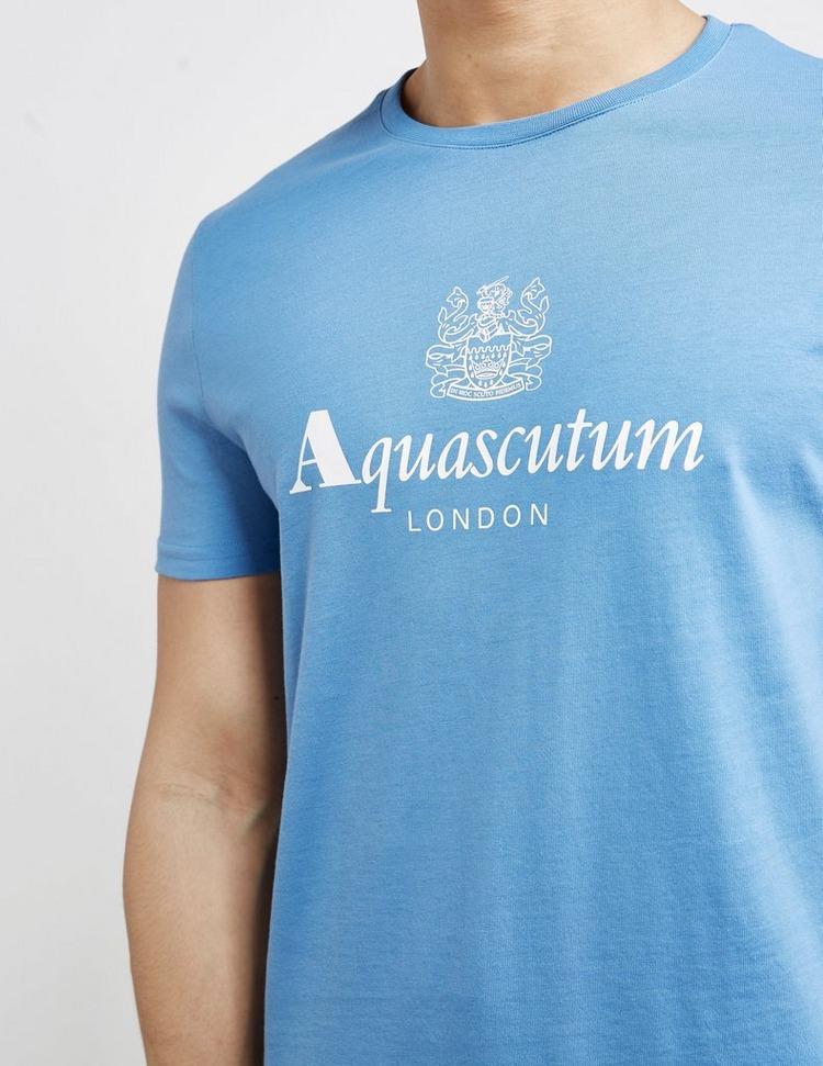 Aquascutum Griffin Logo Short Sleeve T-Shirt