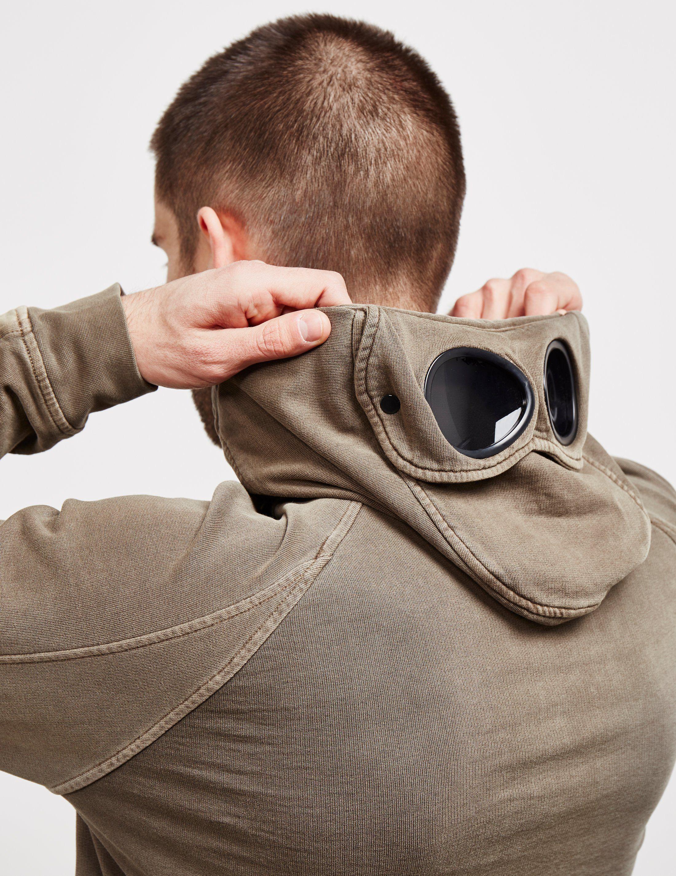 CP Company Zip Goggle Hoodie