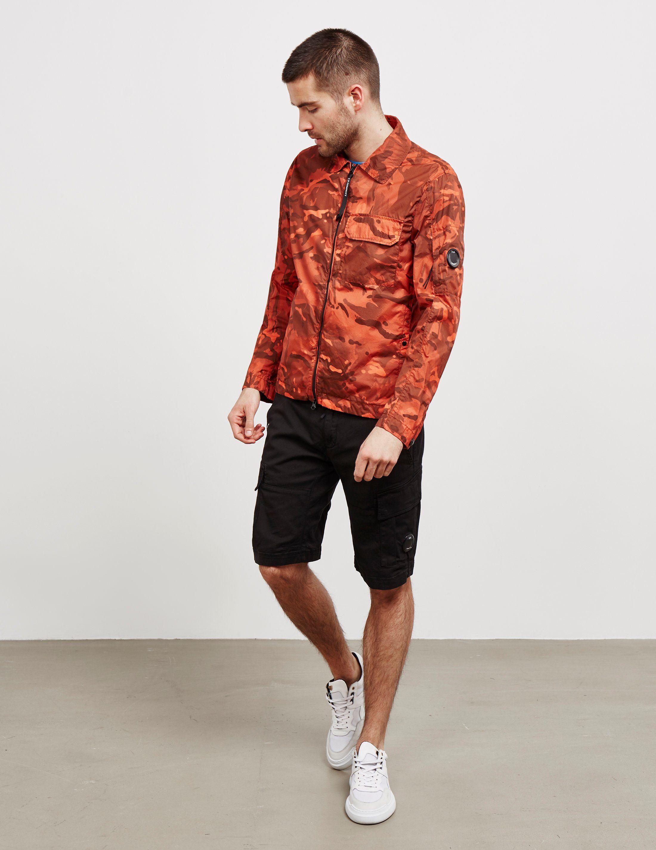 CP Company Camouflage Overshirt