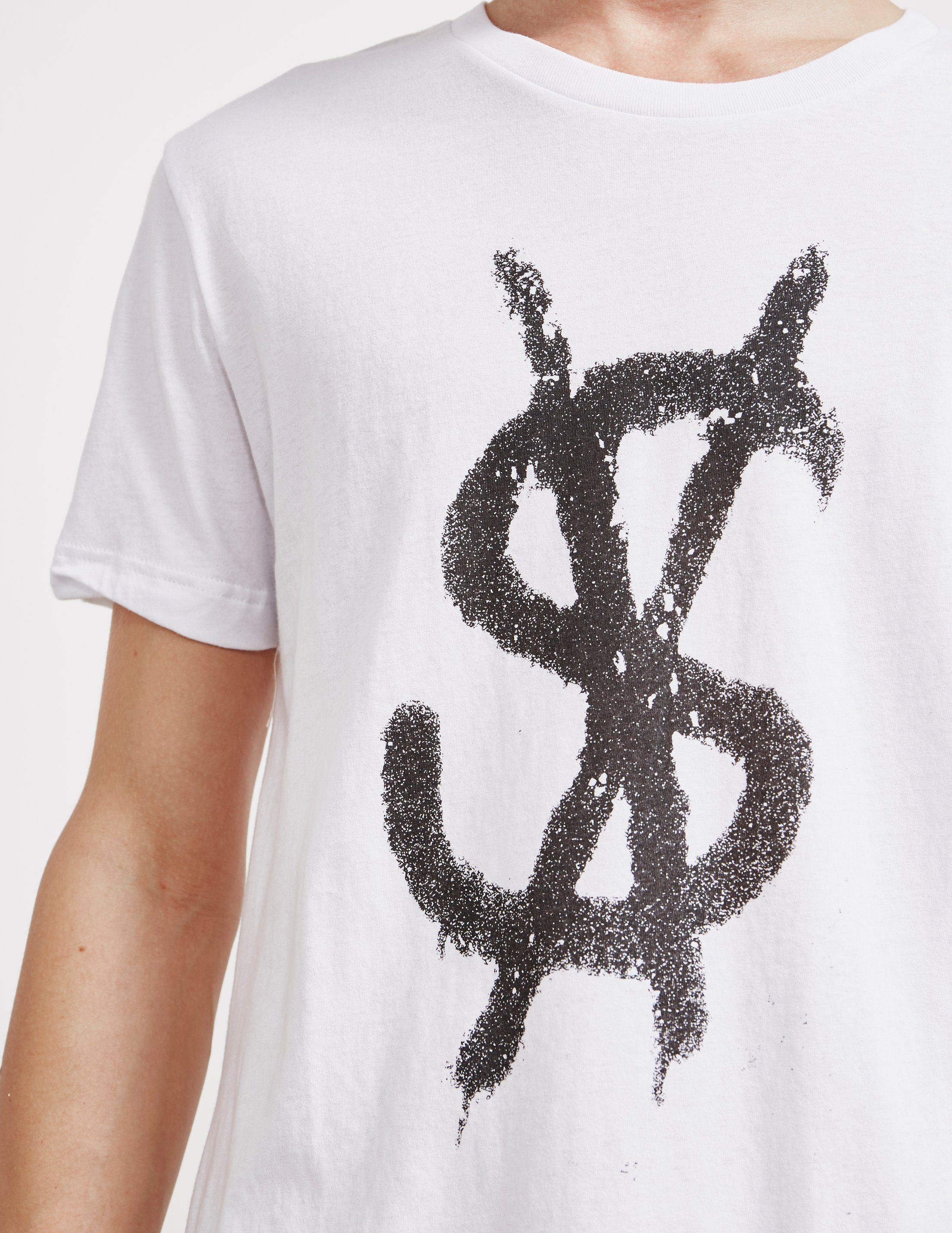 Ksubi Cross Dollar Short Sleeve T-Shirt