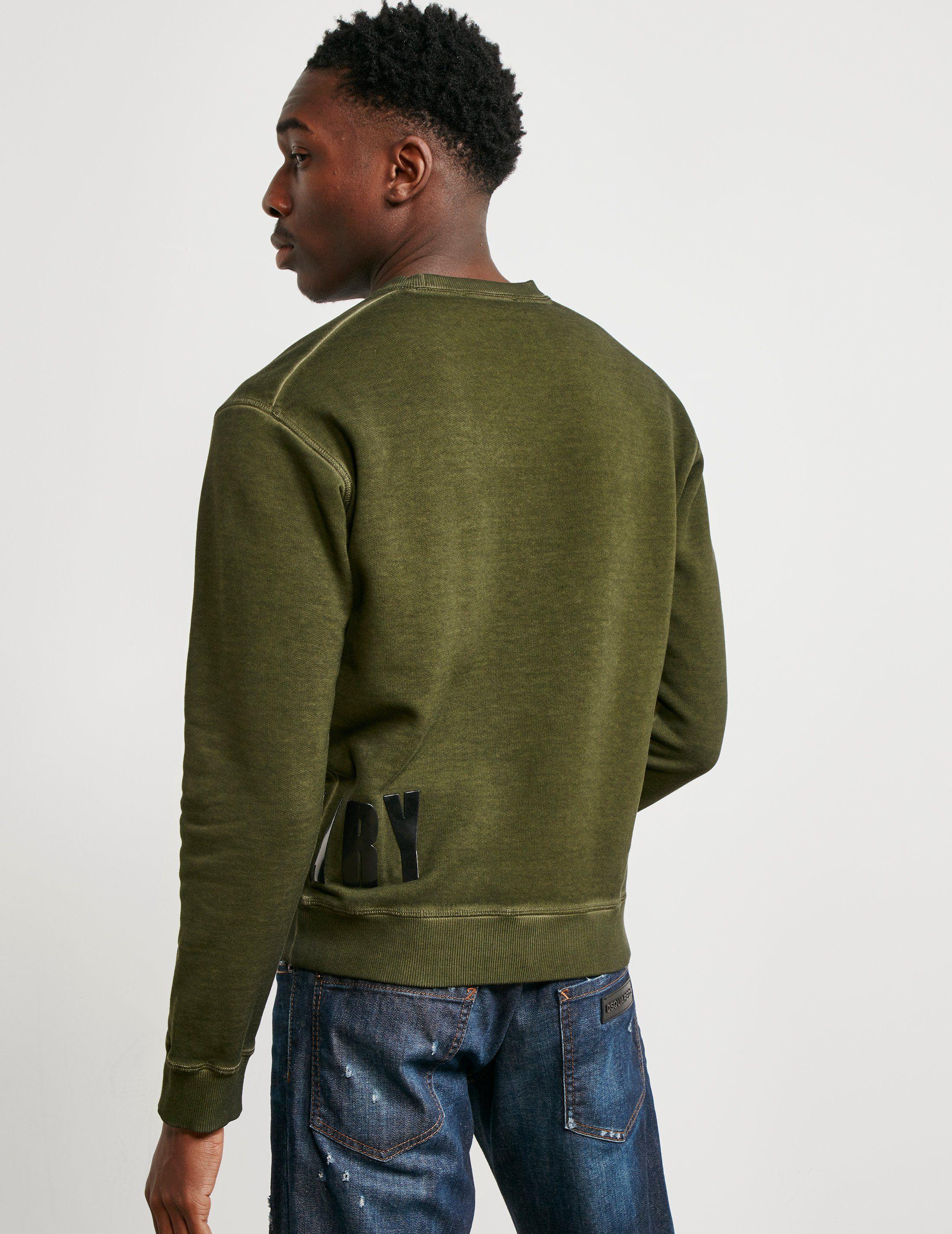 Dsquared2 Military Sweatshirt
