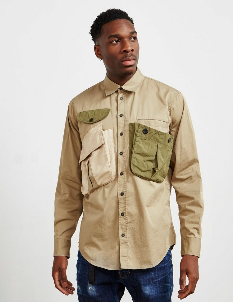 Dsquared2 Military Long Sleeve Shirt
