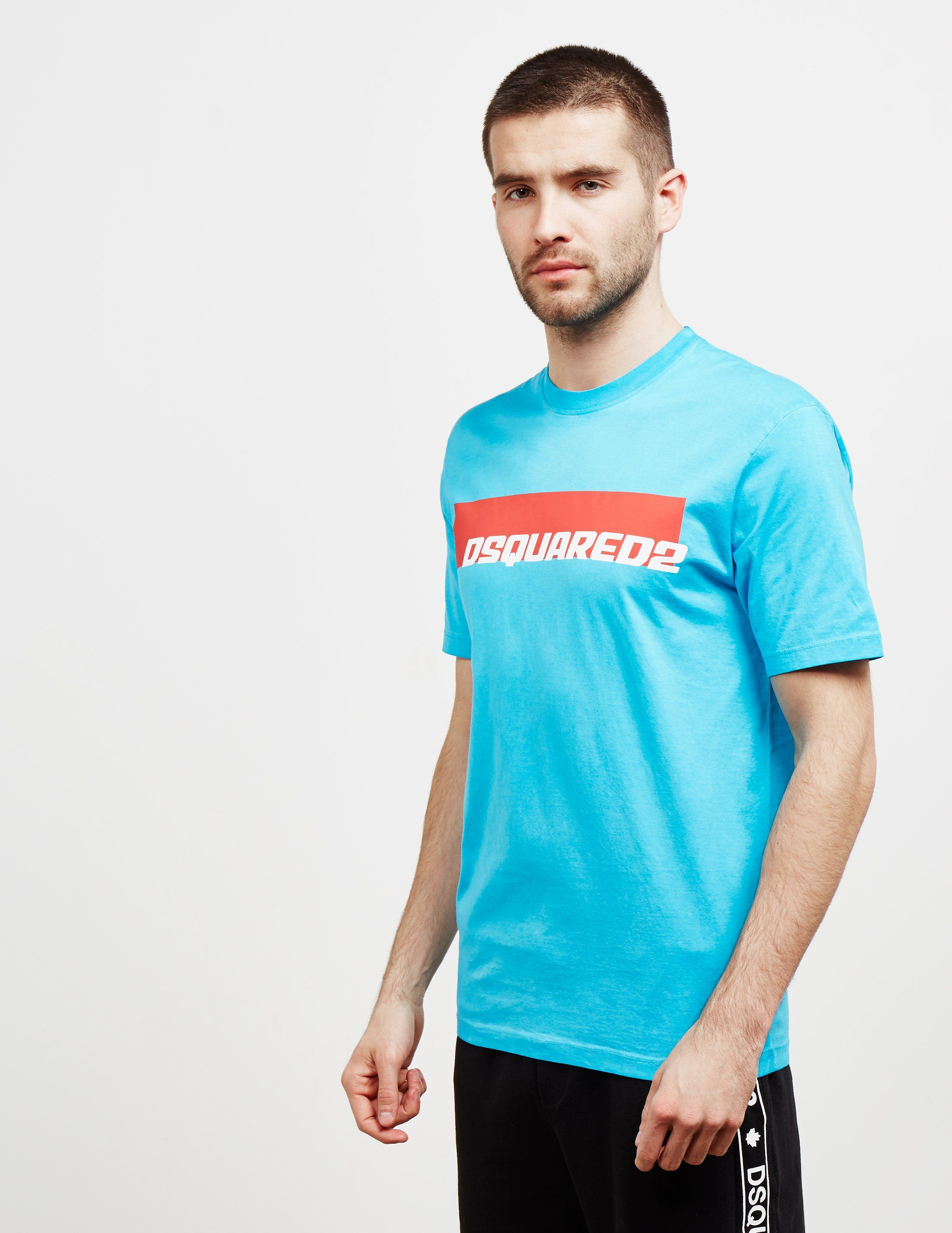 Dsquared2 Biker Box Short Sleeve T-Shirt