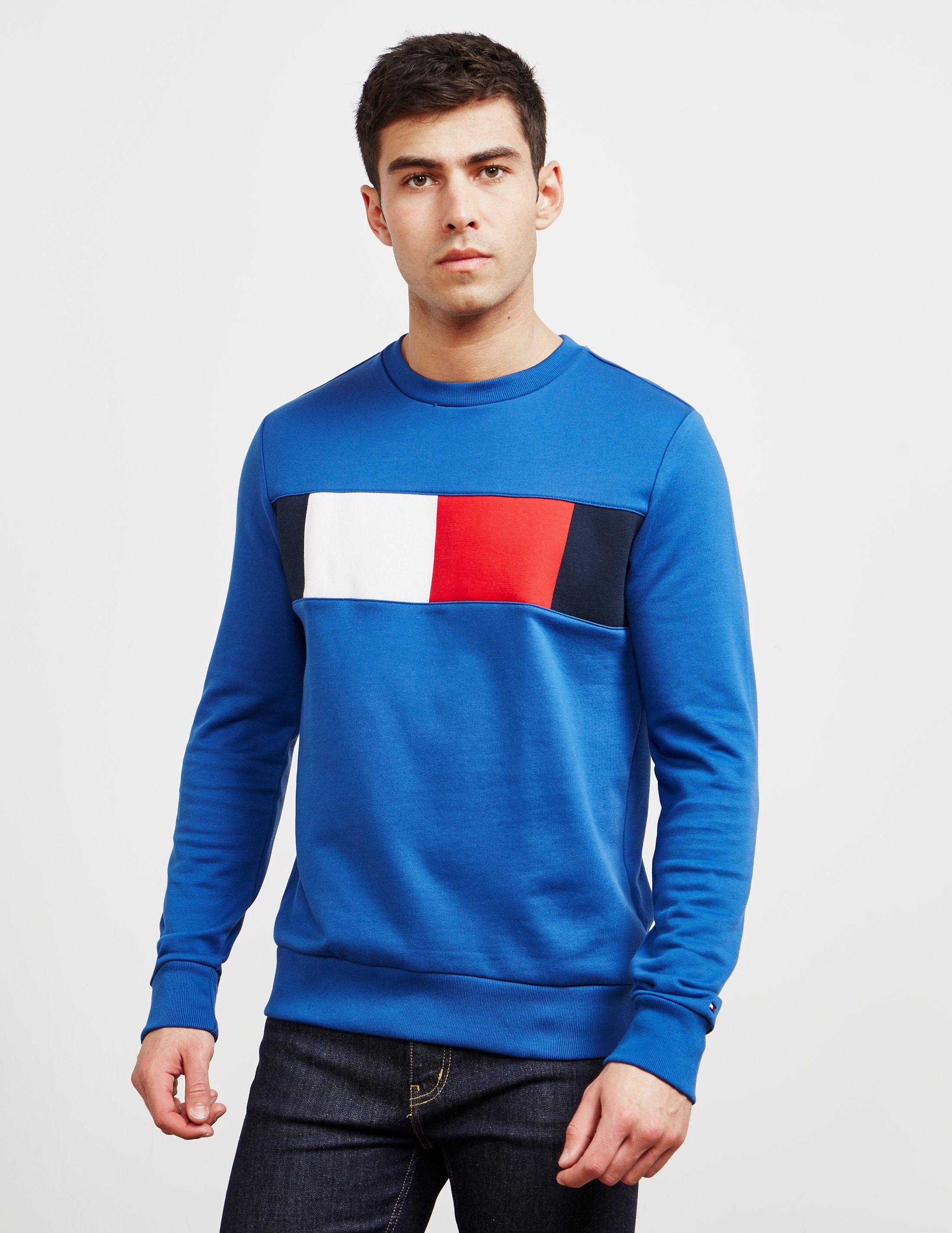 Tommy Hilfiger Panel Logo Sweatshirt