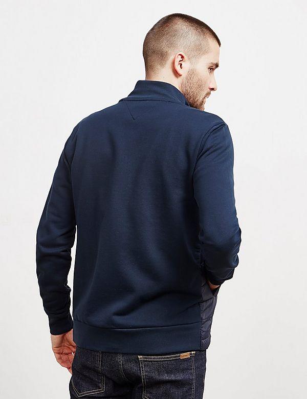 8d74d15c0f62fb Tommy Hilfiger Mixed Baffle Full Zip Sweatshirt | Tessuti