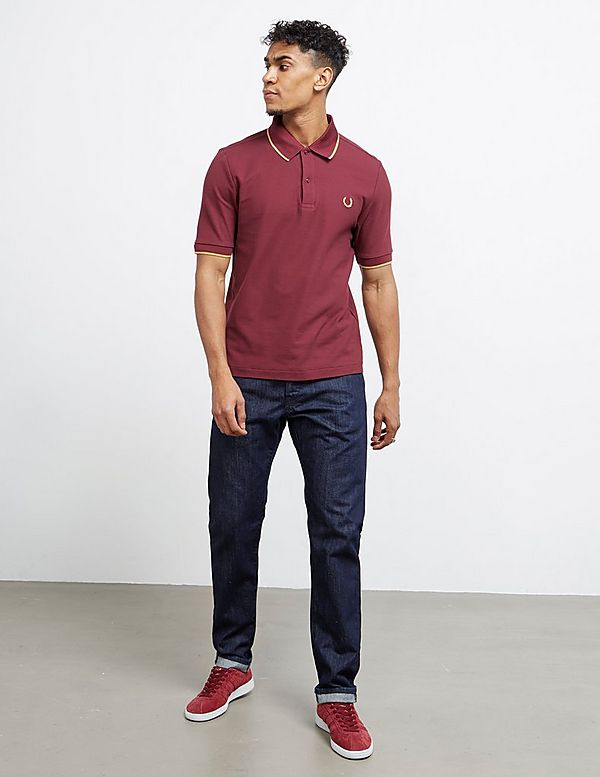 82946307 Fred Perry x Miles Kane Short Sleeve Pique Polo Shirt | Tessuti