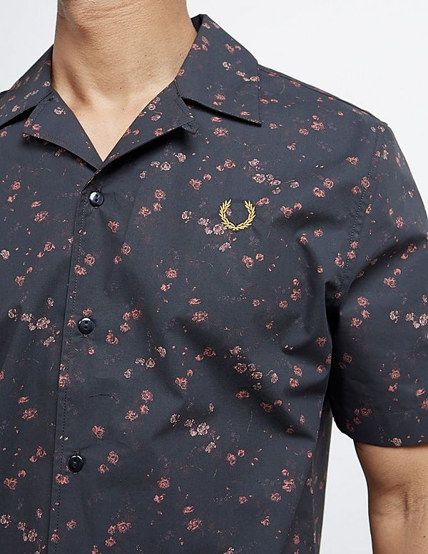60c8bc05b Fred Perry x Miles Kane Short Sleeve Liberty Print Shirt