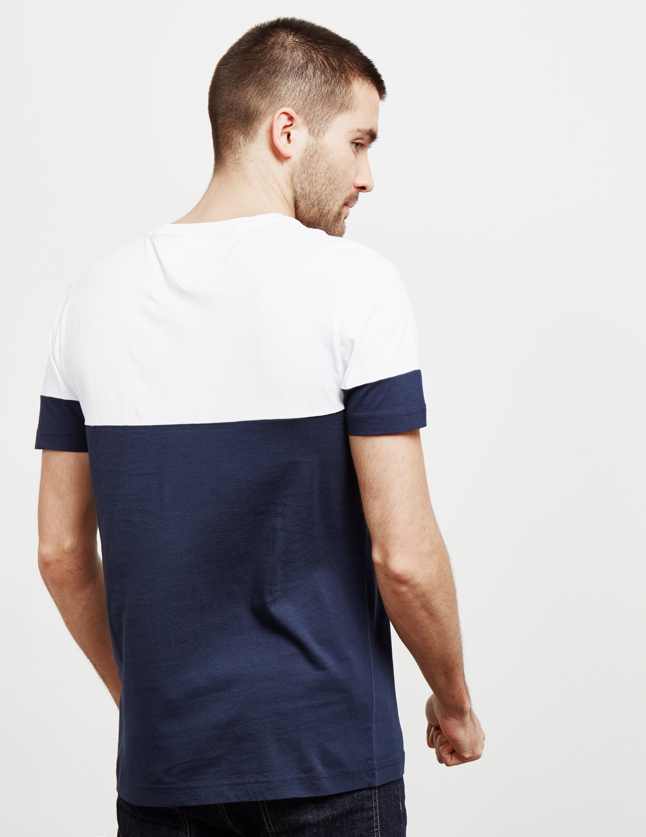 Tommy Hilfiger Colour Block Panelled Short Sleeve T-Shirt