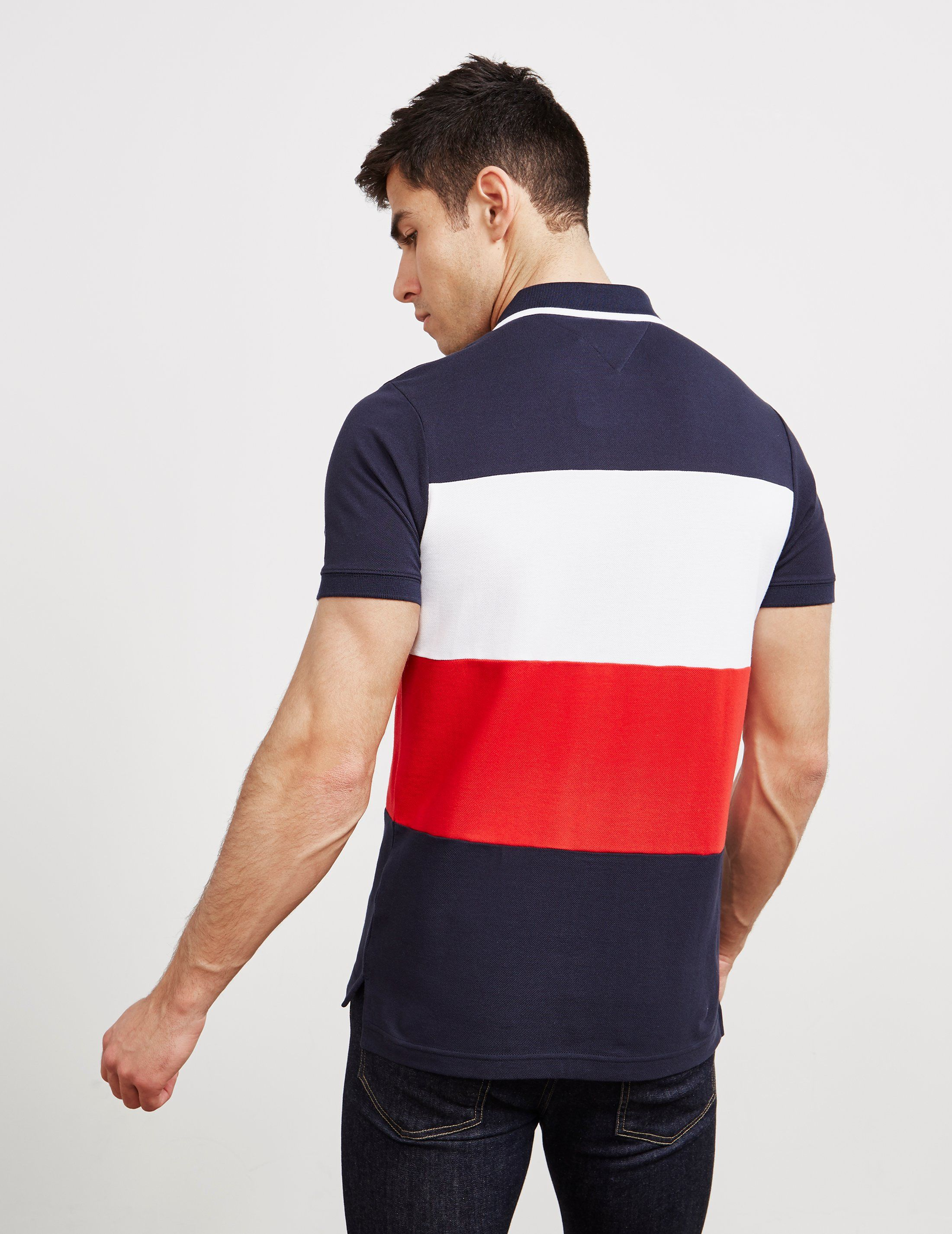 Tommy Hilfiger Block Short Sleeve Polo Shirt - Online Exclusive