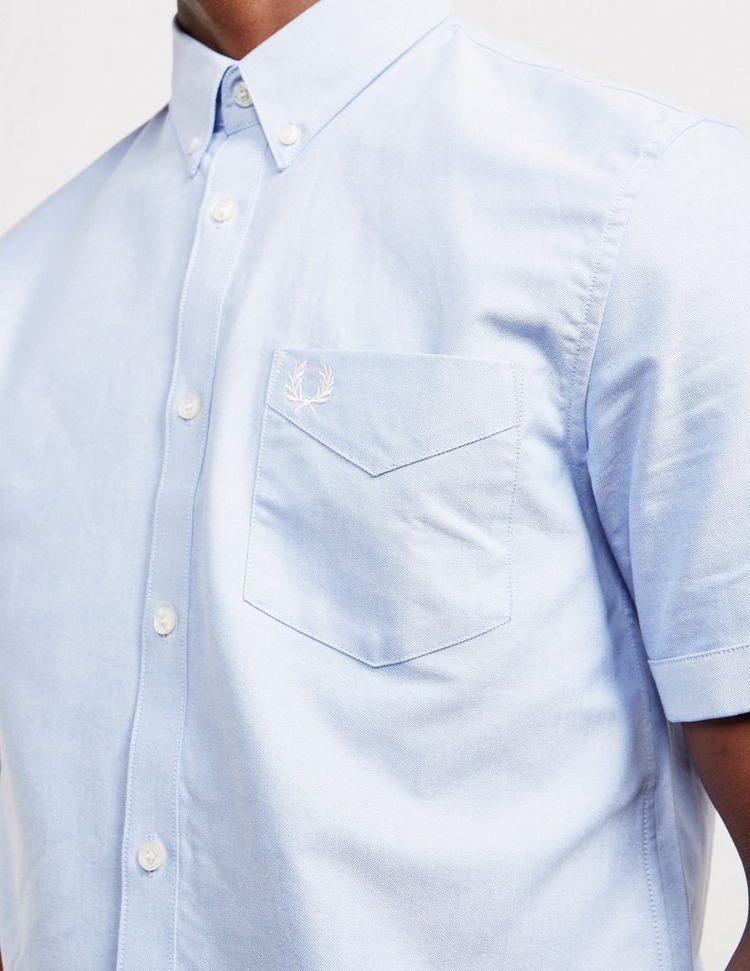 Fred Perry Short Sleeve Oxford Shirt