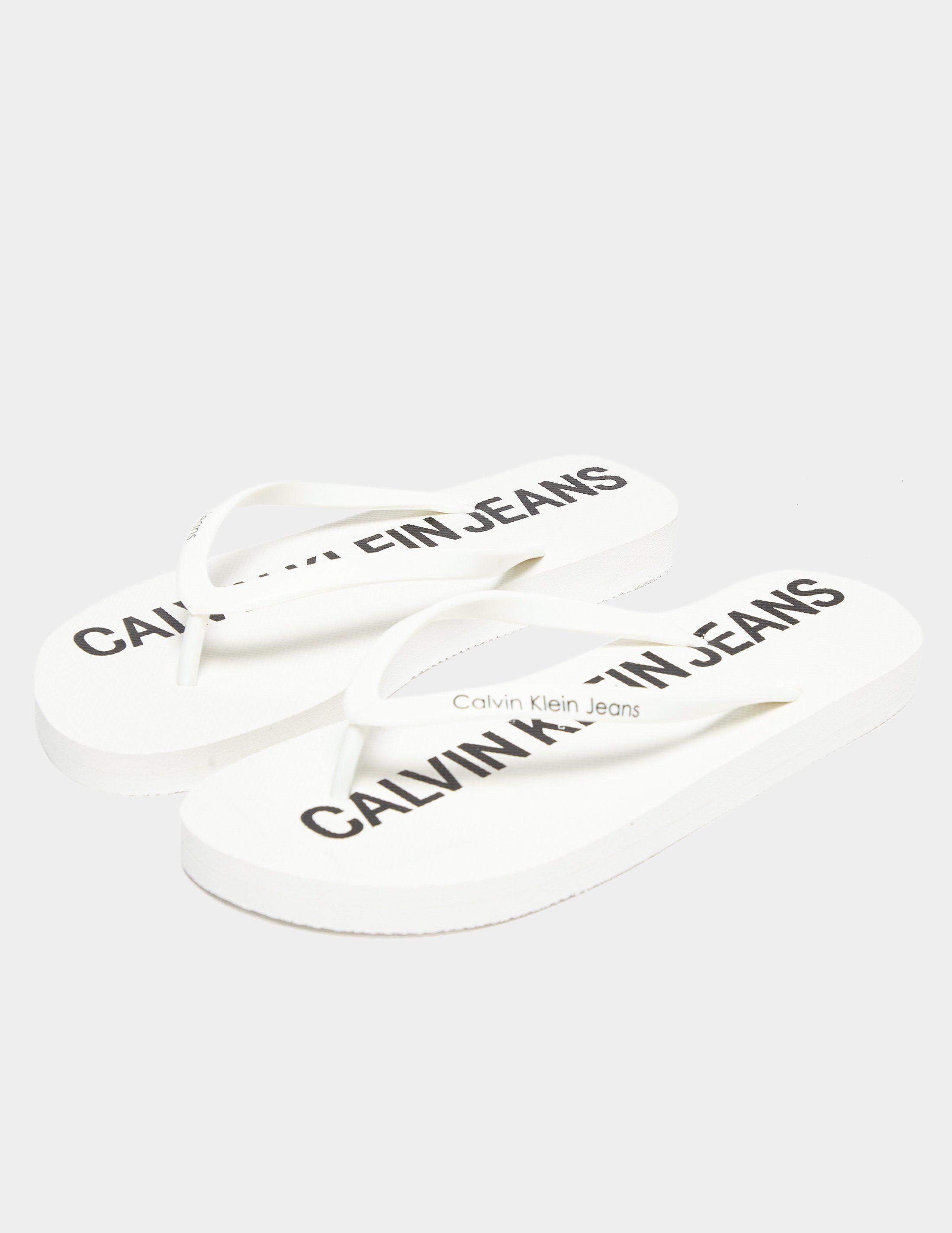 Calvin Klein Jeans Dori Jelly Flip Flops Women's
