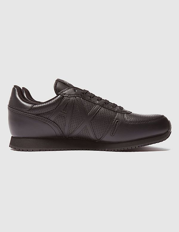Armani Exchange Leather Run