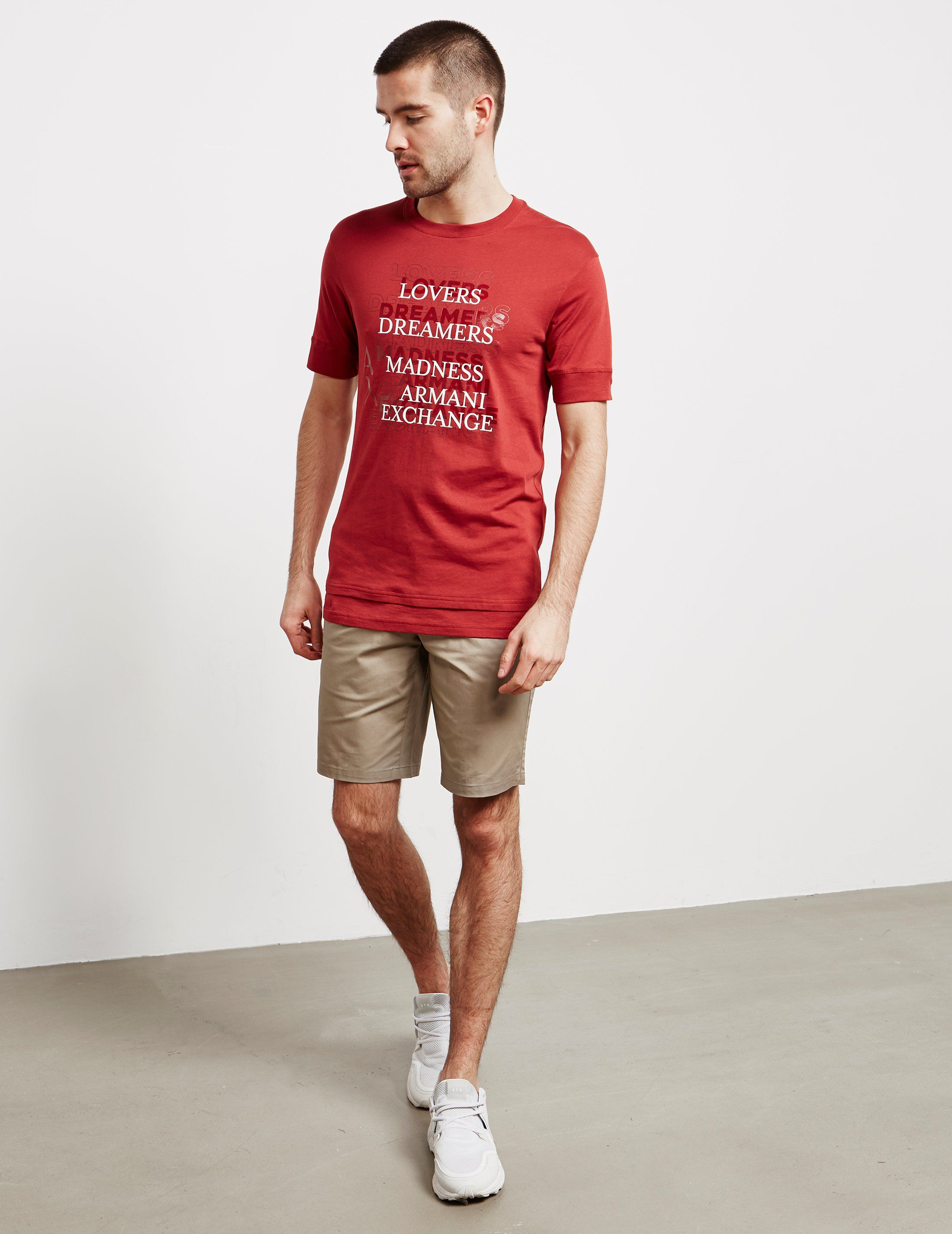 Armani Exchange Lovers Short Sleeve T-Shirt - Online Exclusive
