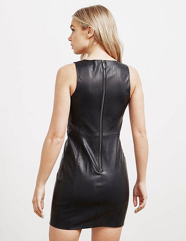 Armani Exchange Eco Leather Dress
