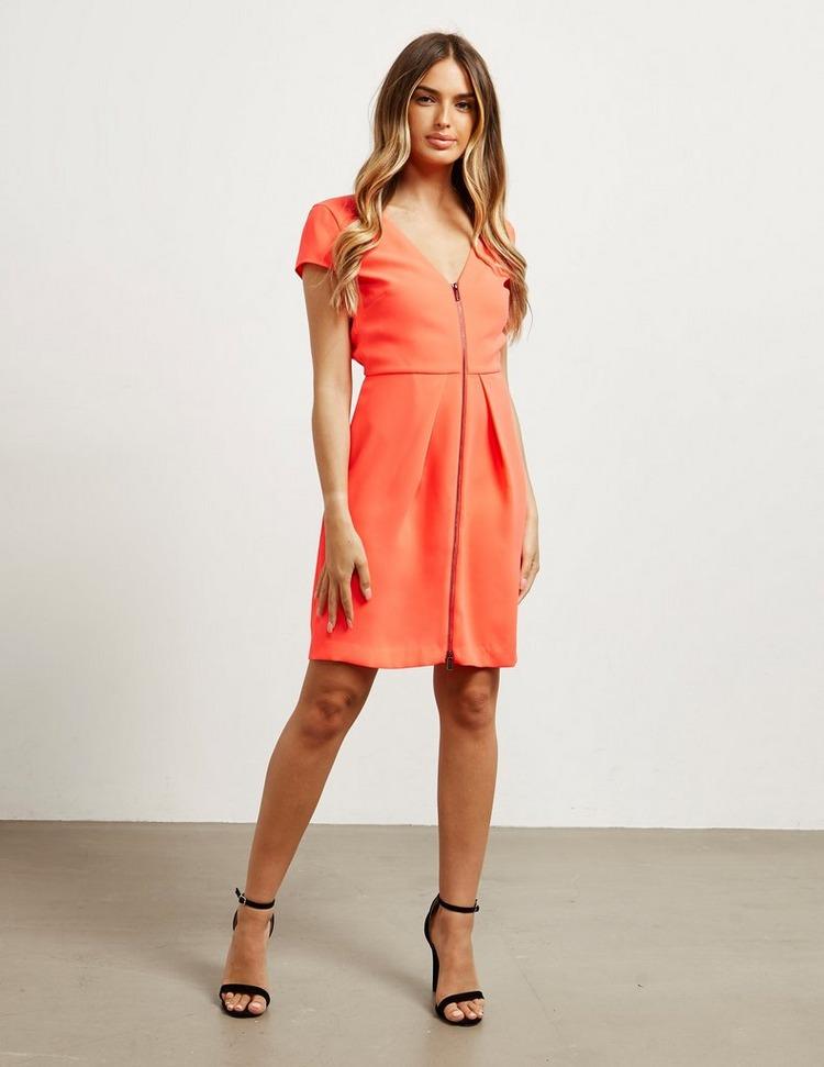 Armani Exchange Front Zip Dress