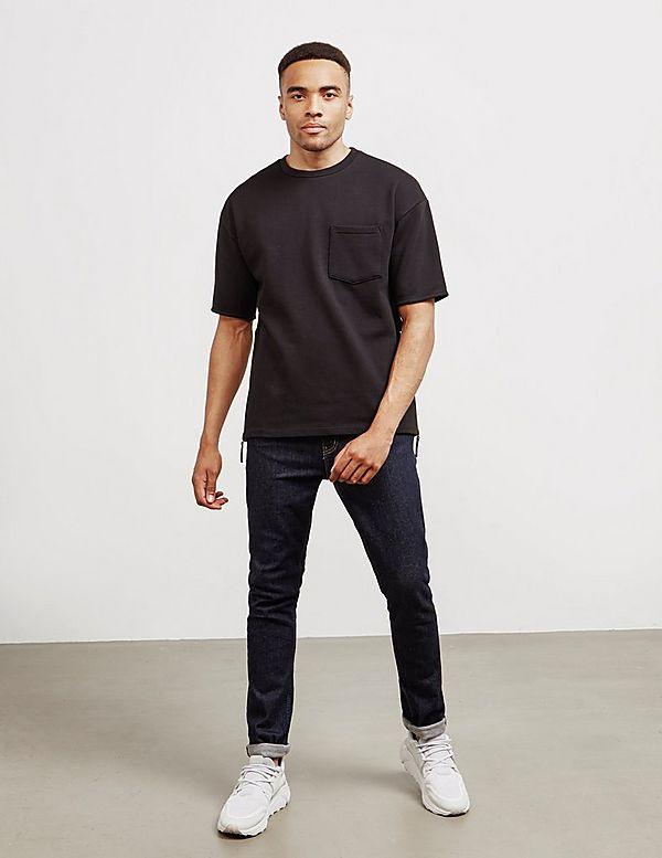 Armani Exchange Dragon Longline Short Sleeve T-Shirt