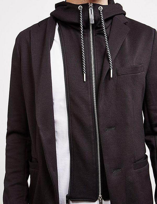 Armani Exchange Zip Hoodie Blazer