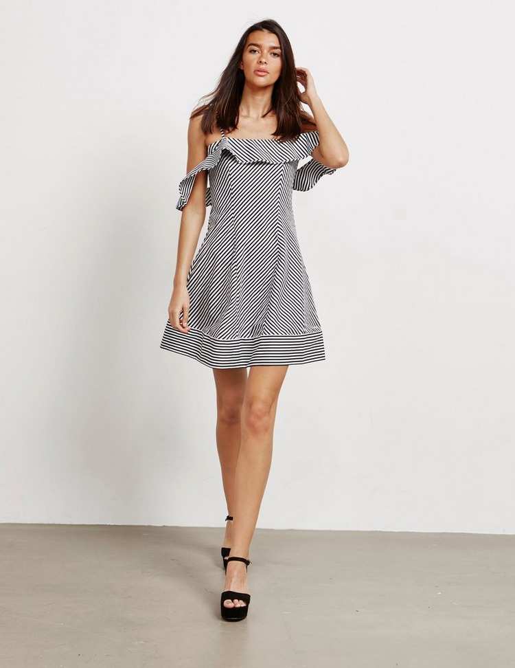 Armani Exchange Stripe Dress