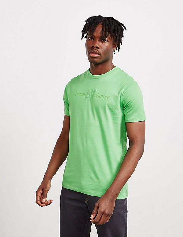 Armani Exchange Embroidered Logo Short Sleeve T-Shirt